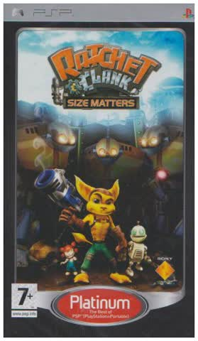 Ratchet & Clank: Size Matters - Platinum Edition [UK Import]
