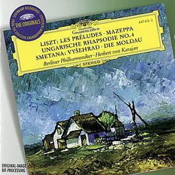 Herbert Von/Bp Karajan - Die Moldau/Les Preludes/Mazeppa/+