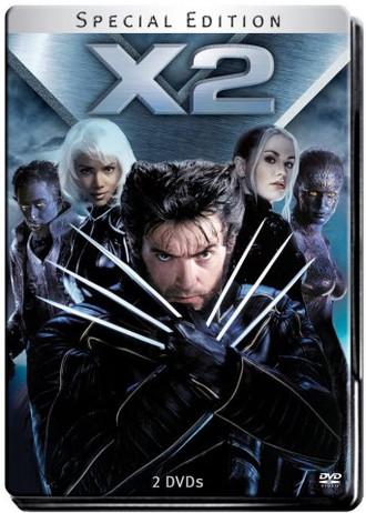 X-Men 2 (Steelbook) [Special Edition] [2 DVDs]