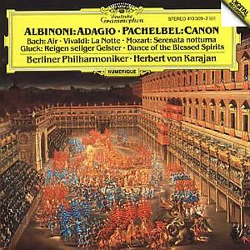 Karajan / Bph - Adagio / Canon. Klassik-Cd - Werke Von Albinoni, Pachelbel, Vivaldi U.A