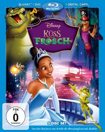 Küss den Frosch (+ DVD + Digital Copy Disc) [Blu-ray]