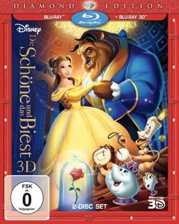 Die Schöne und das Biest [Diamond Edition] (+ Blu-ray) [Blu-ray 3D]