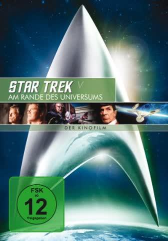 DVD STAR TREK V - AM RANDE DES UNIVERSUM