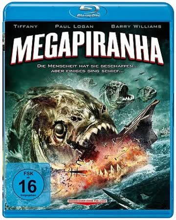 Mega Piranha (Blu-ray)