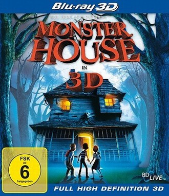 Monster House - Blu-Ray 3d
