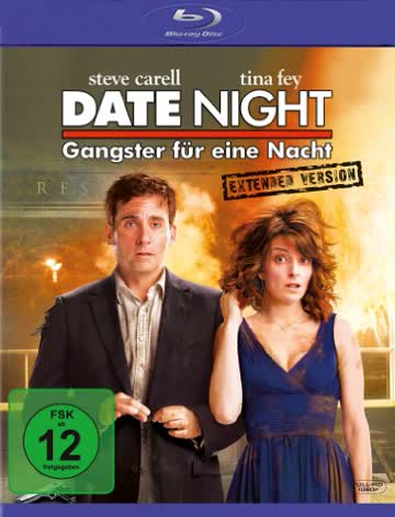 Date Night - Gangster für eine Nacht - Extended Version (+ Digital Copy Disc) [Blu-ray]