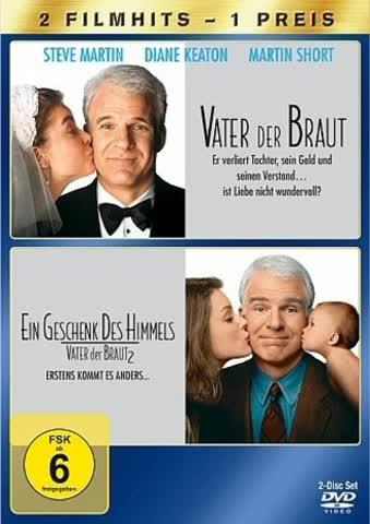 Vater der Braut / Vater der Braut 2 [2 DVDs]
