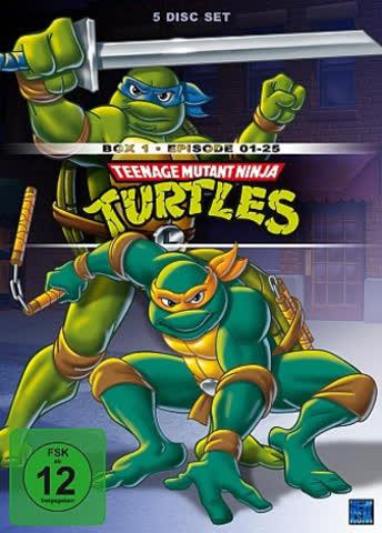 Teenage Mutant Ninja Turtles - Box 1 (5 DVDs)