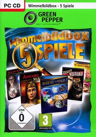 Green Pepper: Wimmelbildbox 1 - 5 Spiele