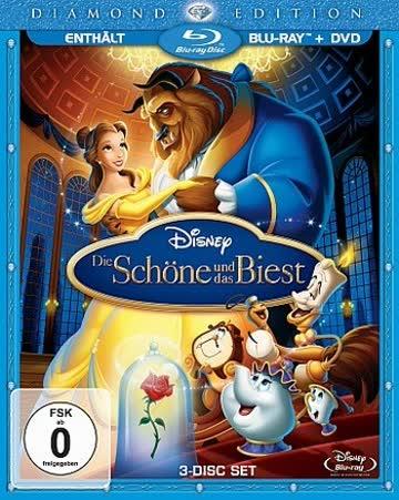 Die Schöne und das Biest (Diamond Edition) (2 Blu-Rays + DVD) [Blu-ray]