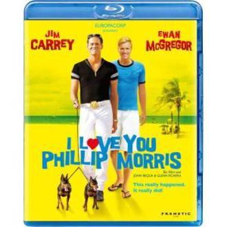 I LOVE YOU PHILLIP MORRIS - JIM CARREY - EWAN McGREGOR (1 BLU-RAY)