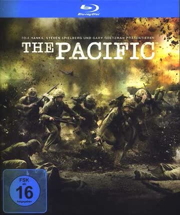 BD * The Pacific (Mini Serie / 6 Discs) [Blu-ray] [Import allemand]