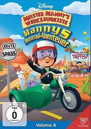 Meister Mannys Werkzeugkiste - Mannys Motorrad-Abenteuer