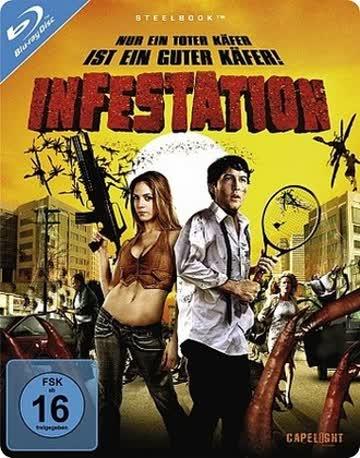 Infestation - Nur ein toter Käfer ist ein guter Käfer - Limited Steelbook [Blu-ray]