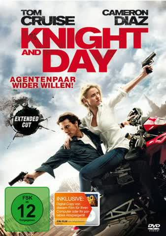 DVD KNIGHT AND DAY
