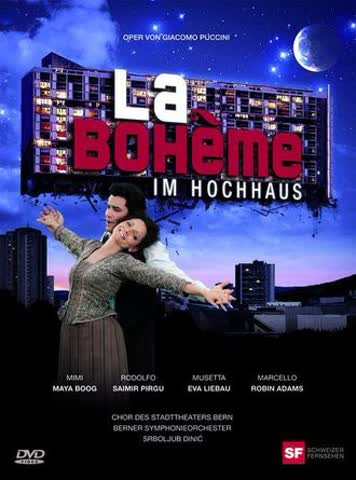 La Bohéme im Hochhaus 2 DVDs 2009 Schweiz