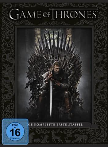 Game of Thrones - Staffel 1 (limitierte Erstauflage mit Fotobuch) [5 DVDs]