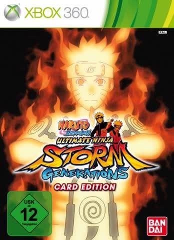 Naruto Shippuden: Ultimate Ninja Storm Generations - Card Edition [German Version]