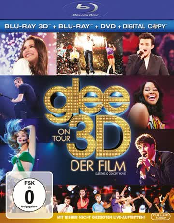 Glee on Tour - Der Film (+ Blu-ray) (inkl. Digital Copy)