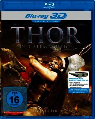 Thor - Der Allmächtige (Real 3D-Edition) (3D Blu-ray)