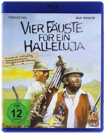 Vier Fäuste für ein Halleluja [Blu-ray]