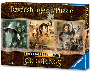 Ravensburger 15103 - Lord of the Rings: Triologie 1000 Teile