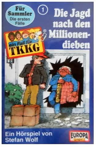Ein Fall für TKKG, Folge 001 - Die Jagd nach den Millionendieben (MC)