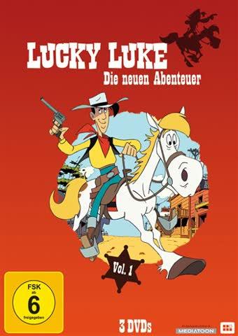 Lucky Luke - die neuen Abenteuer Vol. 1 (3er DVD Box Sammler Collection)