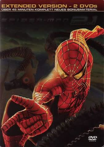 Spider-Man 2.1 - Extended Version (2 DVDs) [Steelbook]