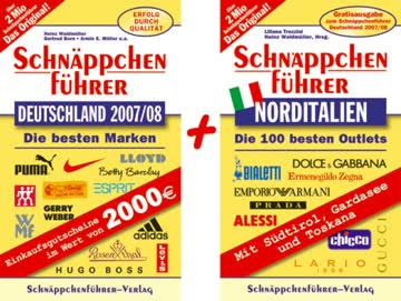 Schnäppchenführer Deutschland 2007/08. Die besten Marken. Mit Gratis-Buch Norditalien