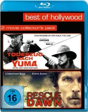 Todeszug nach Yuma/Rescue Dawn - Best of Hollywood/2 Movies Collector's Pack [Blu-ray]