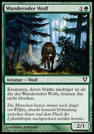 Avacyns Rückkehr - Wandernder Wolf