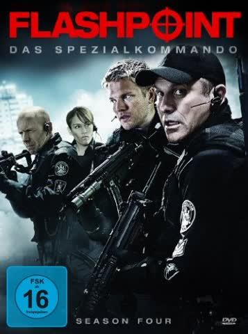 Flashpoint - Das Spezialkommando - Season 4 [4 DVDs]