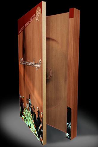 Klassezämekunft - Digipack Aus Holz