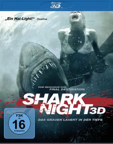 Shark Night 3D [3D Blu-ray]