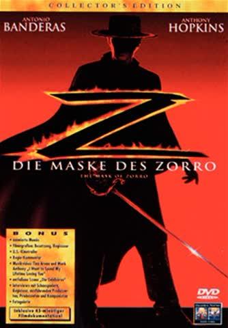 DIE MASKE DES ZORRO - BANDERAS [DVD] [1998]