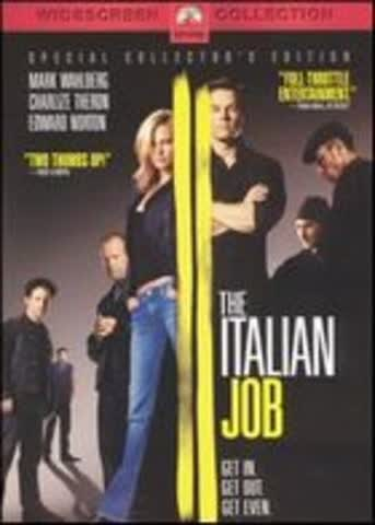The Italian Job - Mark Wahlberg as Charlie Croker; Charlize Theron as Stella Bridger; Mos Def as DVD