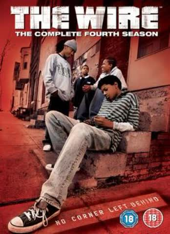 The Wire: Complete HBO Season 4 [DVD]