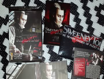 Sweeney Todd - The Demon Barber Of Fleet Street (Limited Gift Set)
