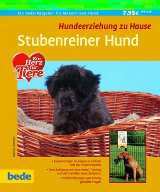 Stubenreiner Hund, Hundeerziehung zu Hause