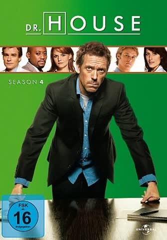 DVD DR. HOUSE STAFFEL 4