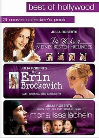 Best of Hollywood - 3 Movie Collector's Pack: Die Hochzeit meines besten Freundes / Erin Brockovich / Mona Lisas Lächeln [3 DVDs]