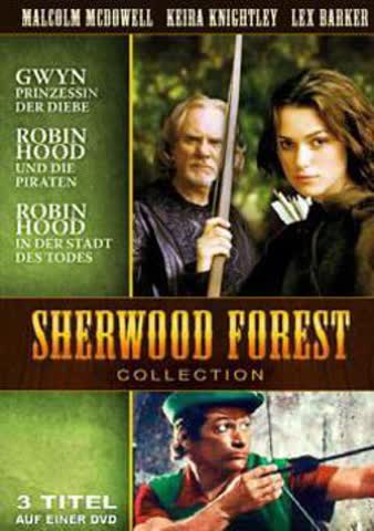 Sherwood Forrest Collection (Gwyn-Prinzessin der Diebe/Robin Hood und die Piraten/Robin Hood in der Stadt des Todes) [Import allemand]