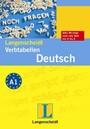 Langenscheidt Verbtabelle Deutsch: Unregelmäßige und regelmäßige Verben richtig konjugiert