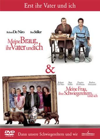 Meine Braut, ihr Vater und ich / Meine Frau, ihre Schwiegereltern und ich [2 DVDs]