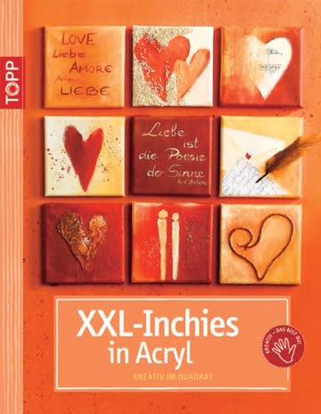 XXL-Inchies in Acryl: Kreativ im Quadrat