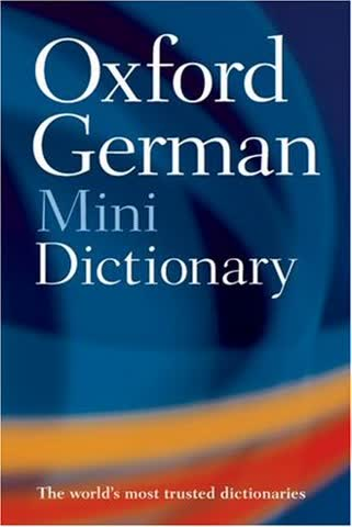 Oxford German Minidictionary. 100.000 entries and translations