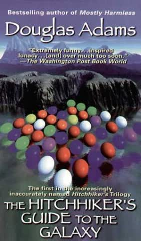 The Hitchhiker's Guide to the Galaxy. (Ballantine Books) (Ballantine Books)