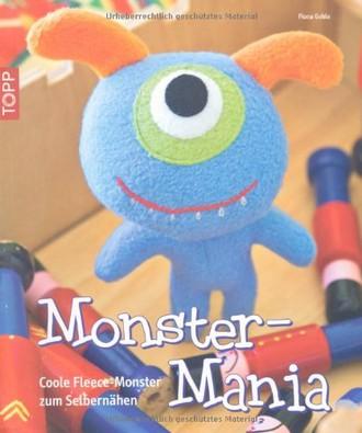 Monster-Mania: Coole Fleece-Monster zum Selbernähen