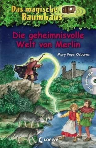 Das magische Baumhaus Die geheimnisvolle Welt von Merlin: Mit Hörbuch-CD Im Auftrag des Roten Ritters (Das magische Baumhaus - Sammelbände)